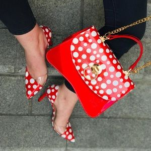 Shoe and bags set